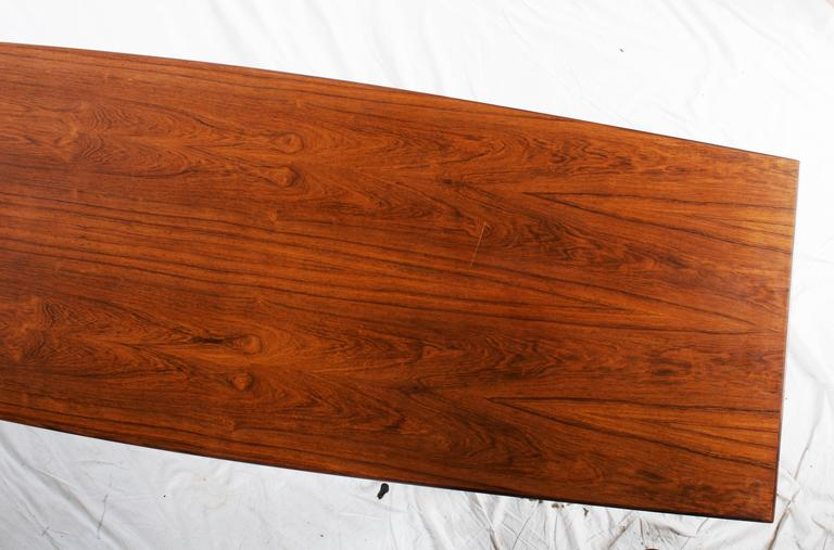 Danish Hardwood Conference Table For Sale 3