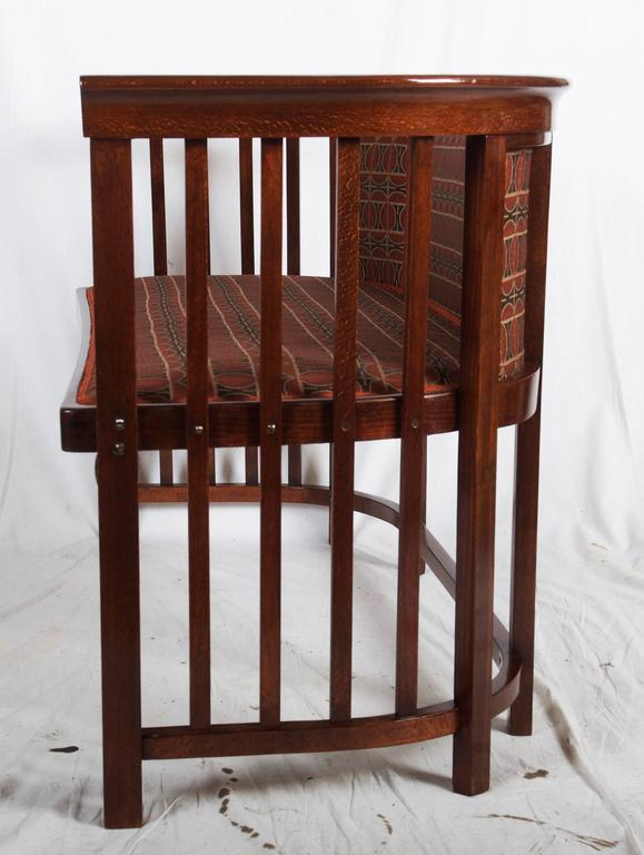 Vienna Secession Josef Hoffmann Bentwood Settee For Sale