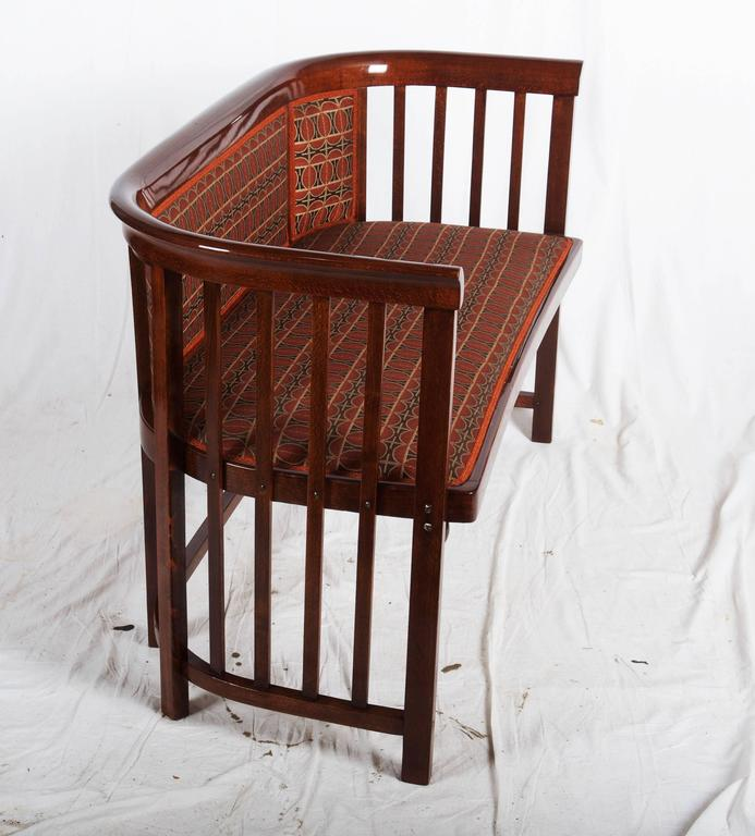 Josef Hoffmann Bentwood Settee In Excellent Condition For Sale In Vienna, AT