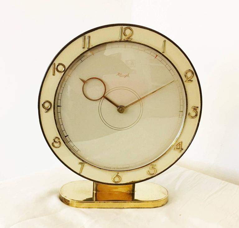 German Art Deco Kienzle Table Clock For Sale