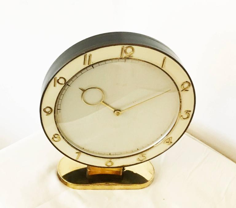 Art Deco Kienzle Table Clock In Good Condition For Sale In Vienna, AT