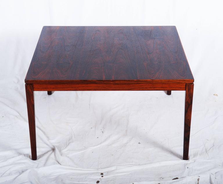 Hardwood Swedish Coffee Table For Sale