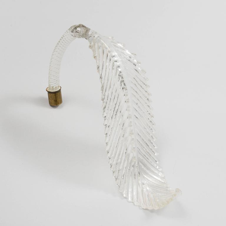 Murano Glass Sconce Wall Light In Excellent Condition For Sale In Vienna, AT