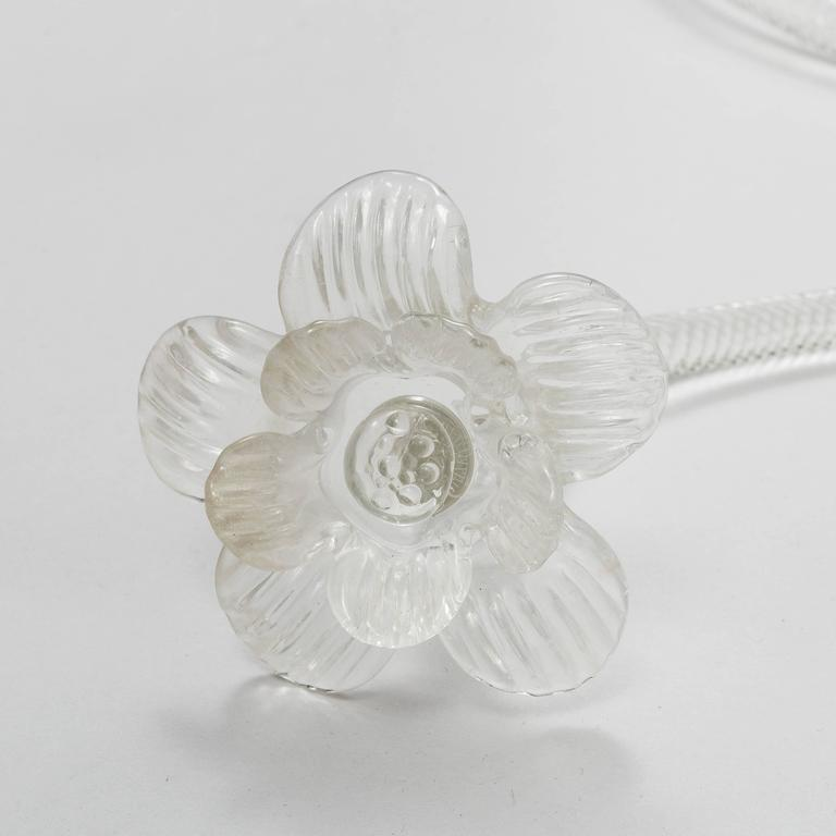 Mid-20th Century Murano Glass Sconce Wall Light For Sale