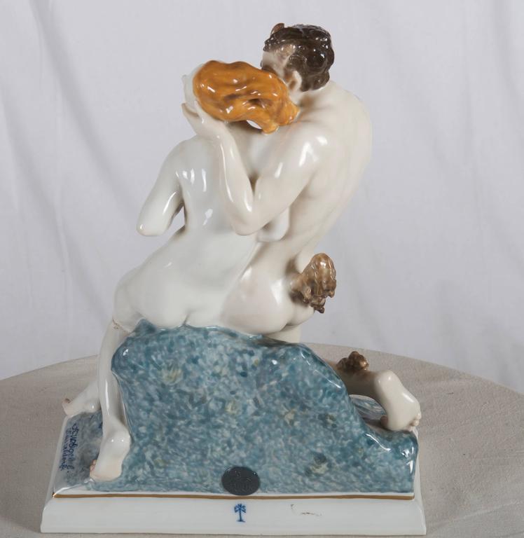 Mid-20th Century Rare Art Deco Figurine by Karl Ens