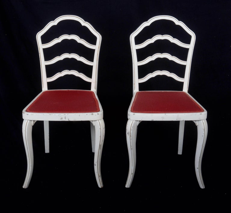 Set of Eight Thonet Dining Chairs In Good Condition For Sale In Vienna, AT