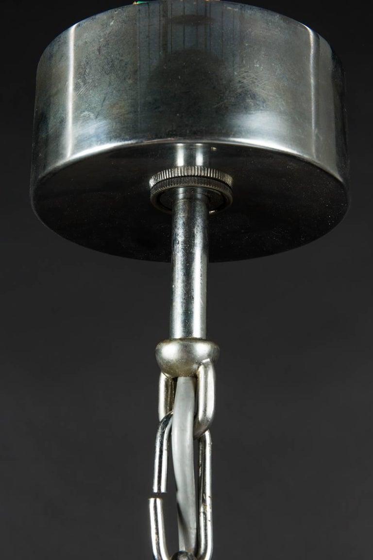 Brass Hurricane Chandelier by Gaetano Sciolari For Sale