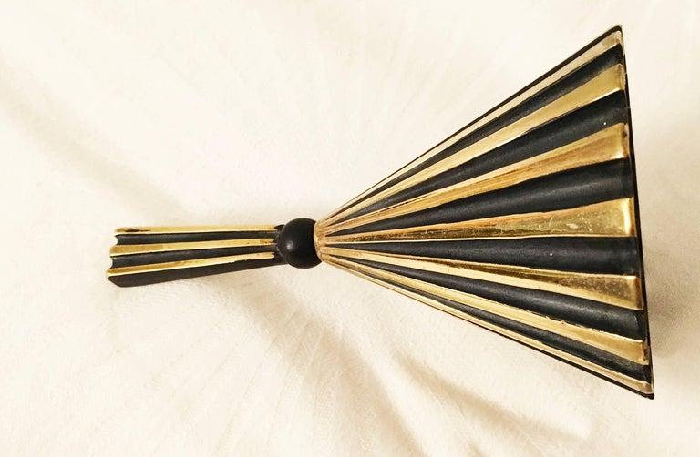 Brass Table Bell by Walter Bosse for Hertha Baller 7