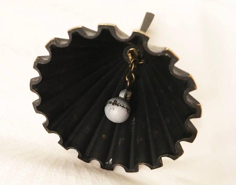 Brass Table Bell by Walter Bosse for Hertha Baller 10