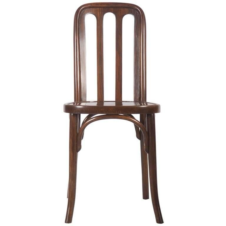 Dining Chairs By Josef Hoffmann For Thonet For Sale