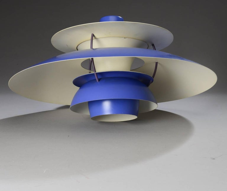 Poul Henningsen Pendant Ph5 for Louis Poulsen In Excellent Condition For Sale In Vienna, AT