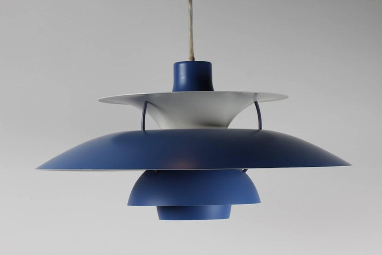 Mid-20th Century Poul Henningsen Pendant Ph5 for Louis Poulsen For Sale