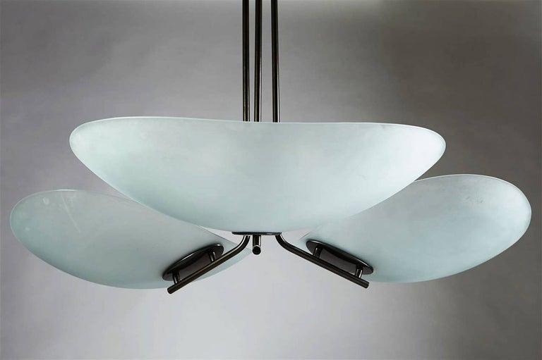 Post-Modern Tebe Chandelier by Ernesto Gismondi for Artemide, Italy, 1980s For Sale