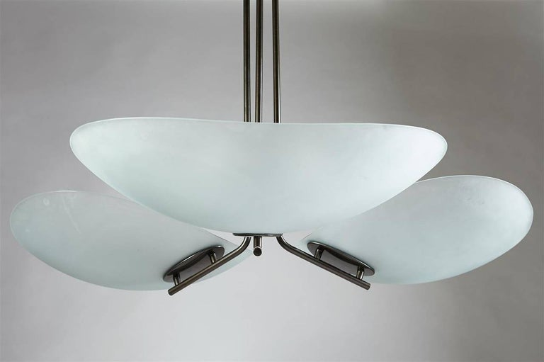 Late 20th Century Tebe Chandelier by Ernesto Gismondi for Artemide, Italy, 1980s For Sale
