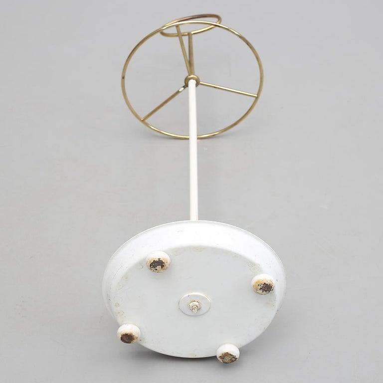 Mid-Century Modern Midcentury Brass Umbrella Stand By Gunnar Ander For Ystad For Sale