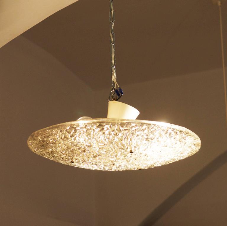 Jt kalmar textured glass ceiling light for sale at 1stdibs art glass jt kalmar textured glass ceiling light for sale aloadofball Image collections