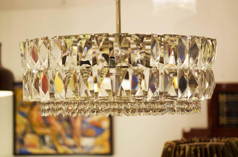 Impressive and stunning crystal chandelier from circa 1960s by Bakalowits & Sohne.