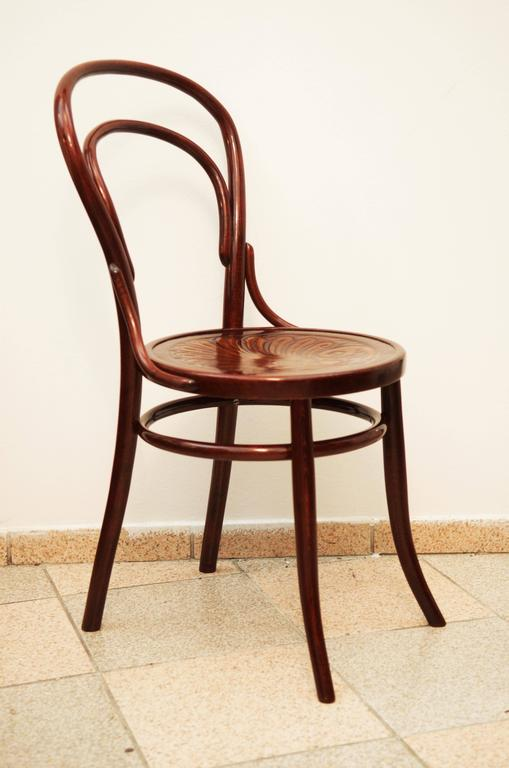 Vienna Secession Bentwood Chairs Attributed to Thonet For Sale