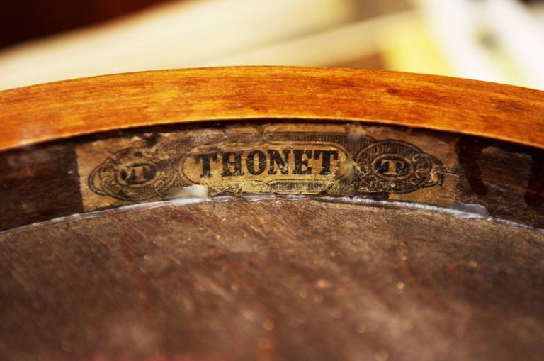 Early 20th Century Rare Thonet Armchair Nr. 8