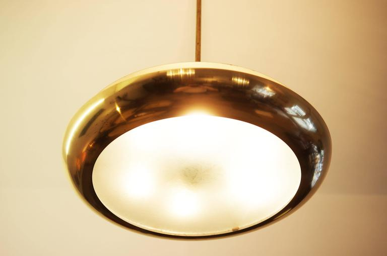 Bauhaus pendant from about 1930s by Josef Hurka for Napako.