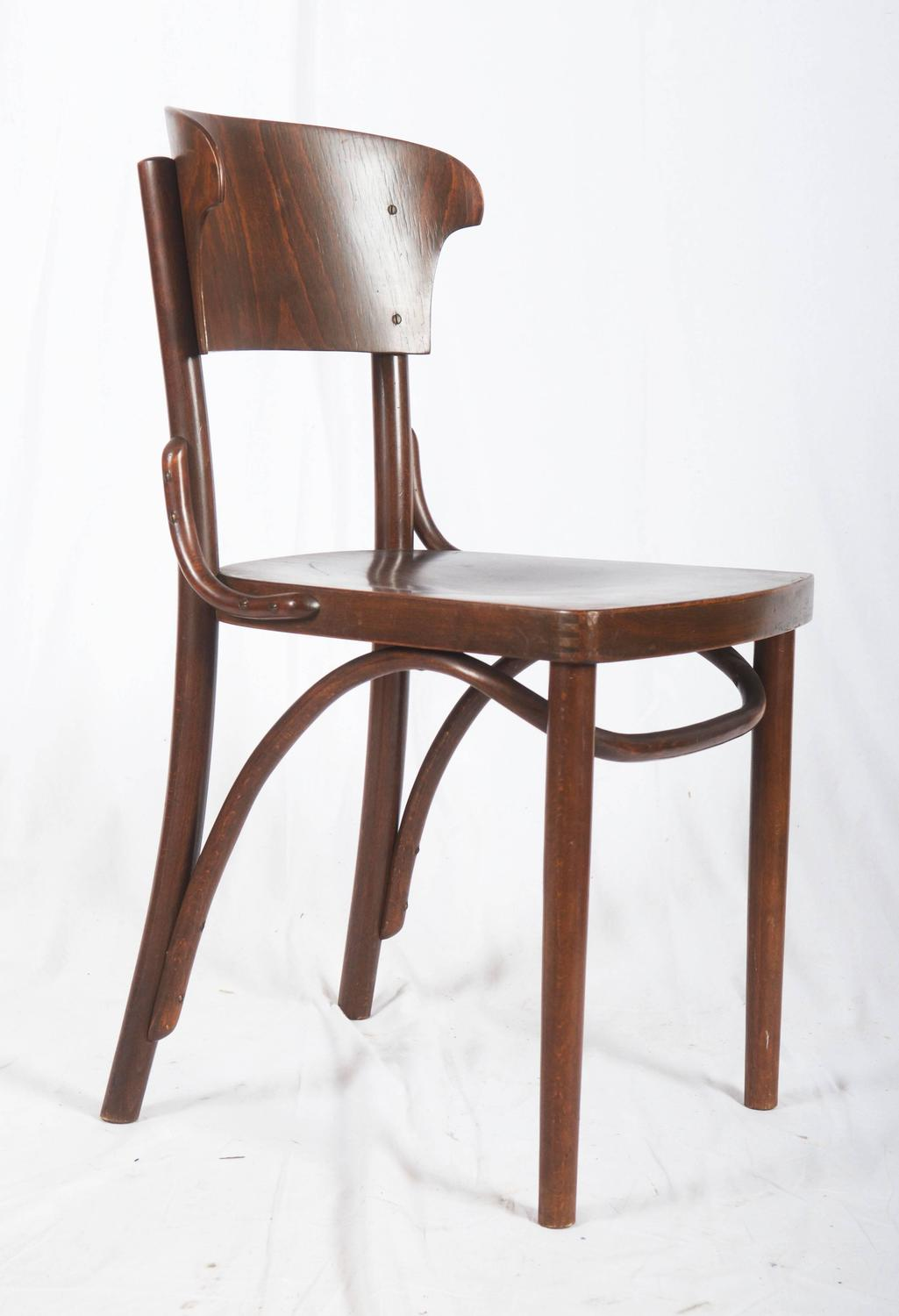 Set of four chairs by thonet for sale at 1stdibs for Chair design 1930
