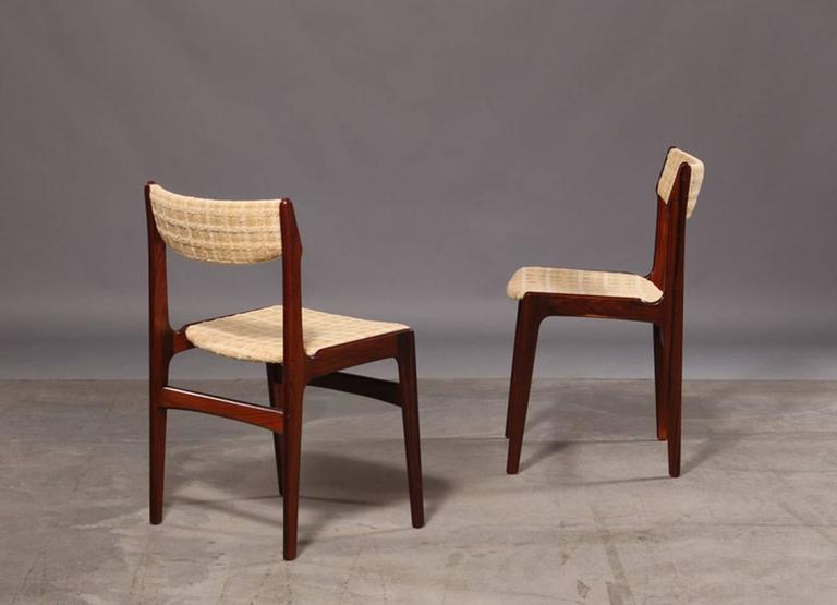Set of Six Mid-Century Danish Rosewood Dining Chairs 7