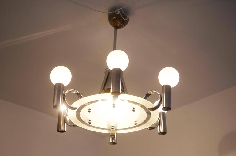 Bauhaus Chandelier from the 1930s For Sale 1