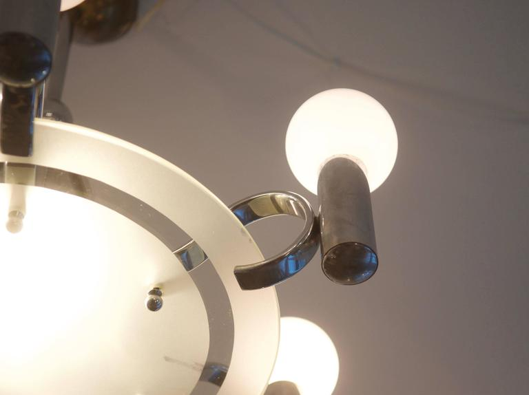 Bauhaus Chandelier from the 1930s For Sale 2