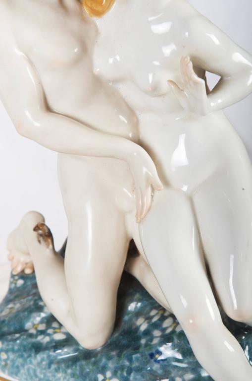 German Rare Art Deco Figurine by Karl Ens
