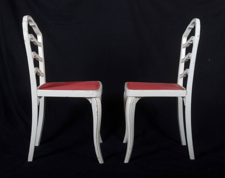 Set of Eight Thonet Dining Chairs For Sale 1