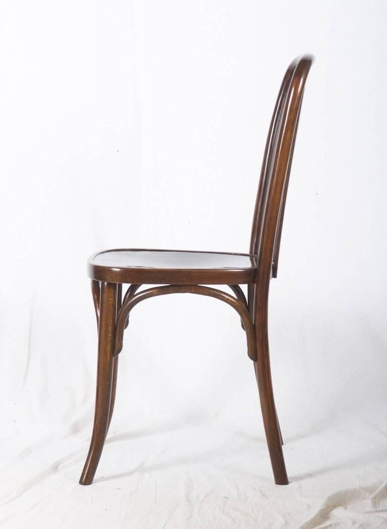 Early 20th Century Dining Chairs by Josef Hoffmann for Thonet For Sale