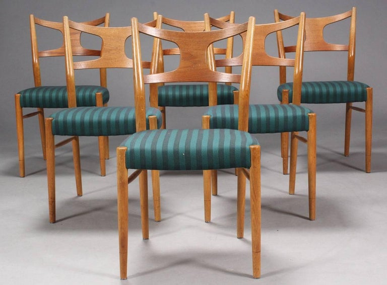 Rare Dining Chairs by Kurt Østervig In Good Condition For Sale In Vienna, AT