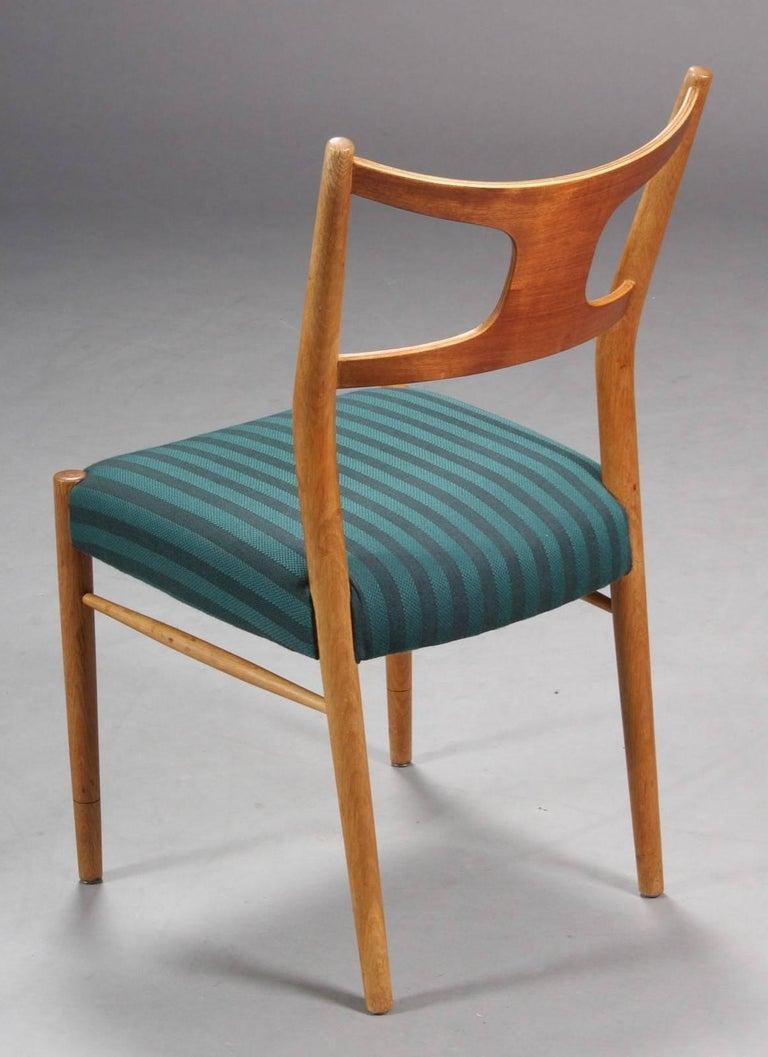 Scandinavian Modern Rare Dining Chairs by Kurt Østervig For Sale
