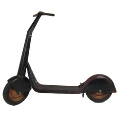 Rare Vintage Boys and Girls Speed King All Steel Scooter