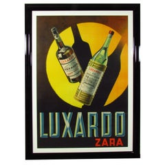 Vintage Luxardo Zara Advertising Poster by Alessandro Pomi