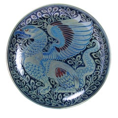William De Morgan Triple Lustre Ceramic Tazza