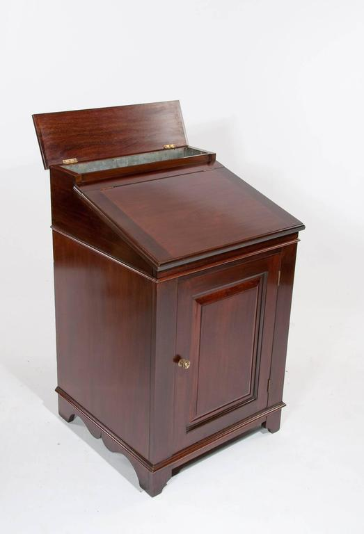 Georgian Antique Mahogany Davenport Writing Desk