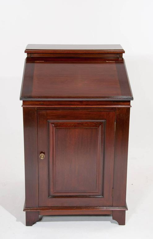Early 20th Century Antique Mahogany Davenport Writing Desk