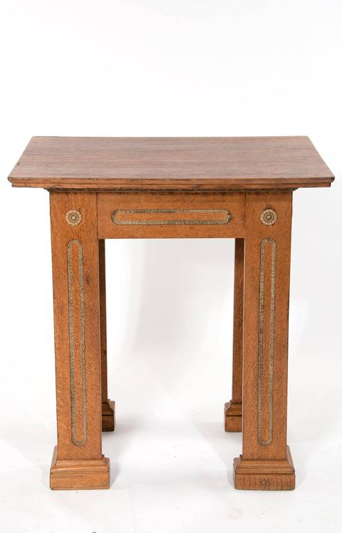 Unusual antique oak architectural table for sale at 1stdibs for Unusual tables for sale