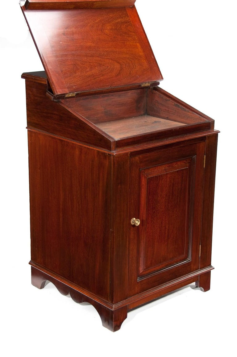 Edwardian Antique Mahogany Davenport Writing Desk For Sale - Antique Mahogany Davenport Writing Desk For Sale At 1stdibs