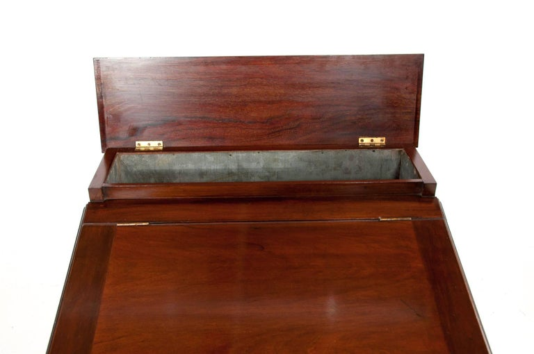 Antique Mahogany Davenport Writing Desk For Sale 2