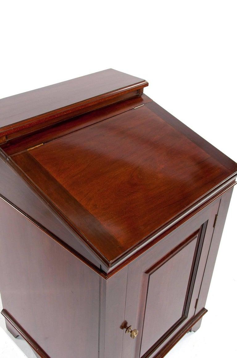 Antique Mahogany Davenport Writing Desk For Sale 3