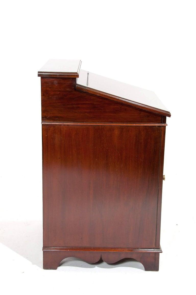 Antique Mahogany Davenport Writing Desk For Sale 4