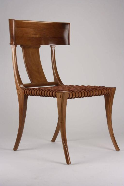 T.H Robsjohn-Gibbings for Saridis of Athens Chair Model No. 3 In Excellent Condition For Sale In Dallas, TX