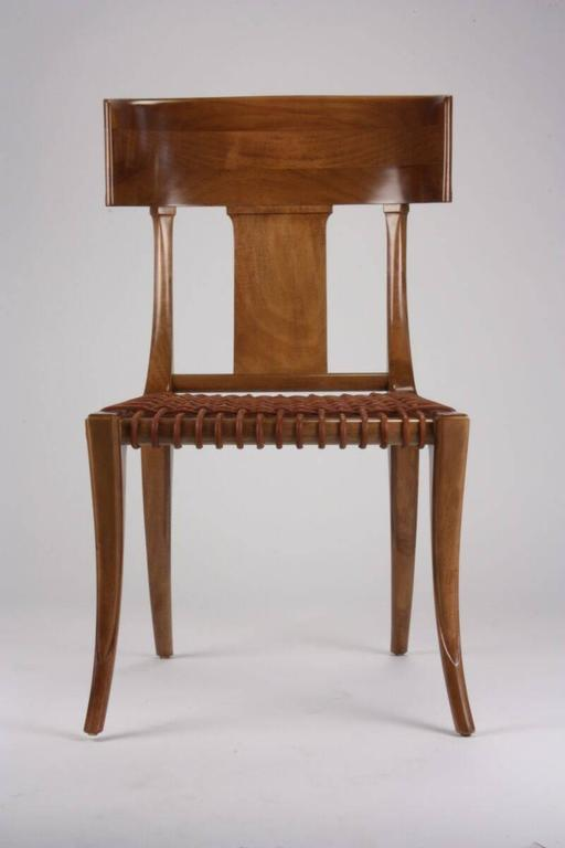 Classical Greek T.H Robsjohn-Gibbings for Saridis of Athens Chair Model No. 3 For Sale