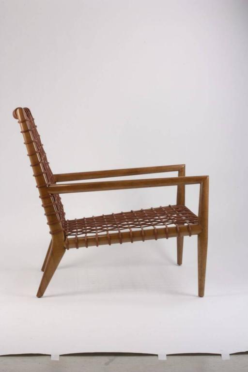 Classical Greek T.H Robsjohn-Gibbings for Saridis of Athens Armchair Model No 155 For Sale
