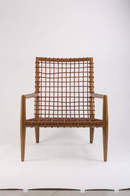 Contemporary T.H Robsjohn-Gibbings for Saridis of Athens Armchair Model No 155 For Sale
