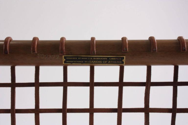 T.H Robsjohn-Gibbings for Saridis of Athens Armchair Model No 155 5
