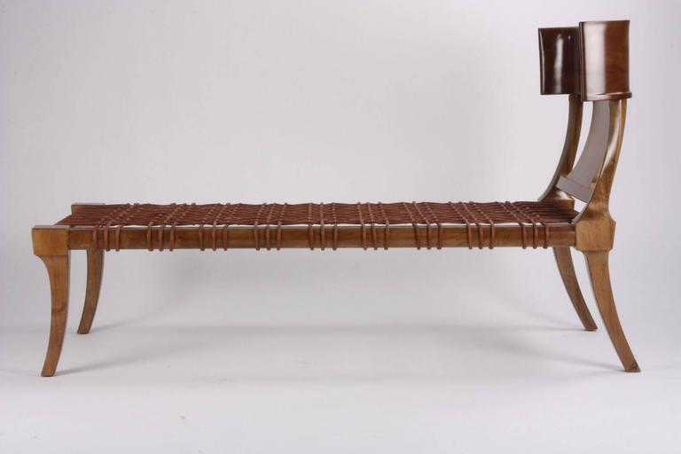 T. H Robsjohn-Gibbings for Saridis of Athens Couch/ Chaise Model #11 2