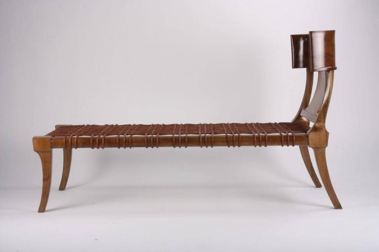 T. H Robsjohn-Gibbings for Saridis of Athens Couch/ Chaise Model #11 3